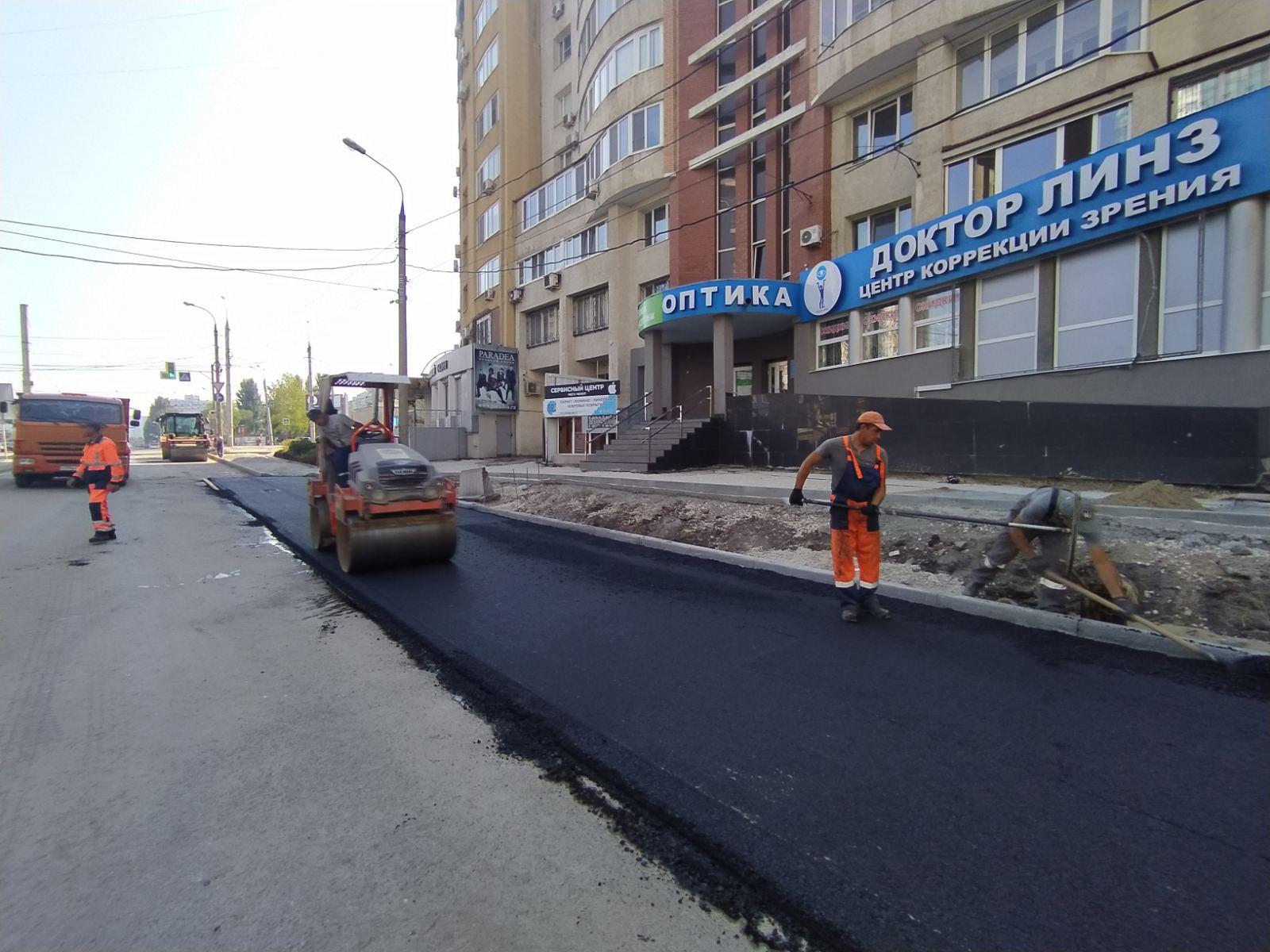 Новые парковки появятся на улице Ленинской в Самаре после ремонта