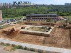Ход строительства дома № 11 в ЖК Новая Кузнечиха - фото 4, Июль 2021
