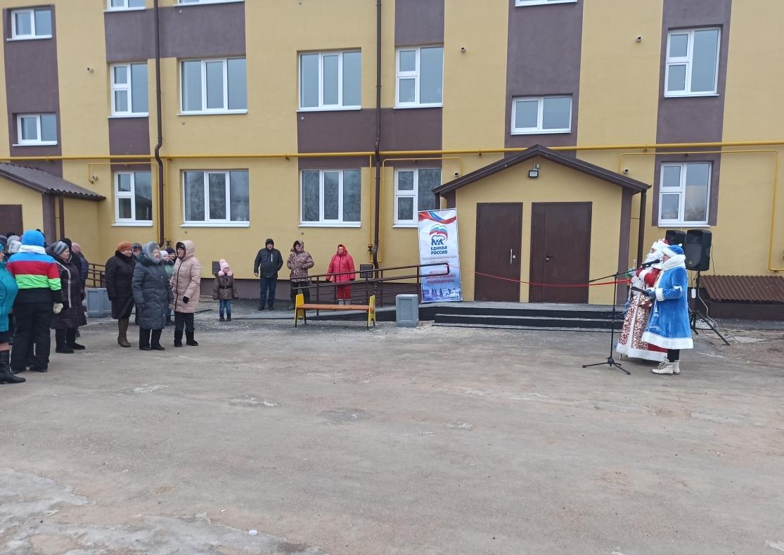 Жители аварийного фонда Дальнеконстантиновского района переселяются в новые квартиры