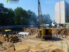 Ход строительства дома № 1 в ЖК Клевер - фото 121, Июль 2018