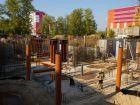 Ход строительства дома № 1 в ЖК Город чемпионов - фото 102, Сентябрь 2014