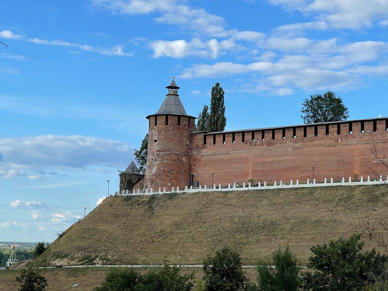 Кольцевой маршрут по стене Нижегородского кремля закроют на зиму - фото 1