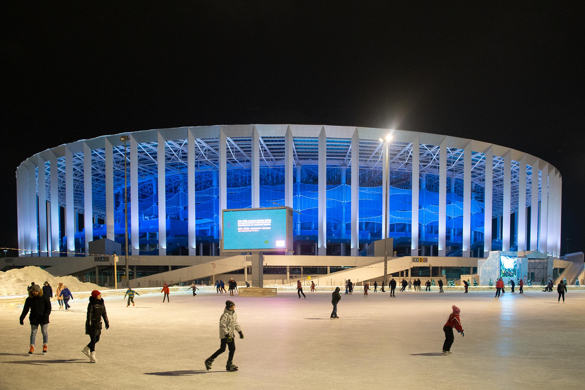 Зимний спортивный город откроют на стадионе в Нижнем Новгороде - фото 1