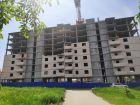 Ход строительства дома № 38 в ЖК Три Сквера (3 Сквера) - фото 17, Июнь 2021