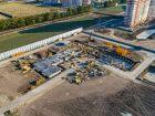 Ход строительства дома Литер 3 в ЖК Самолет 2 - фото 31, Сентябрь 2020