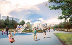 Проект благоустройства площади Горького в Нижнем Новгороде