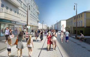 Проект благоустройства Большой Покровской в Нижнем Новгороде