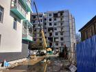 Ход строительства дома №1 в ЖК Премиум - фото 64, Апрель 2018