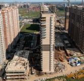 Ход строительства дома Литер 2 в Фруктовый квартал Абрикосово -