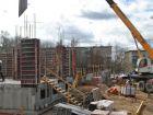 Ход строительства дома № 1 в ЖК Дворянский - фото 89, Апрель 2016