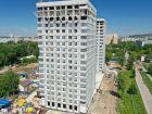 Ход строительства дома № 1 второй пусковой комплекс в ЖК Маяковский Парк - фото 25, Июнь 2021