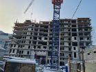 Ход строительства дома № 1 в ЖК Покровский - фото 46, Январь 2021