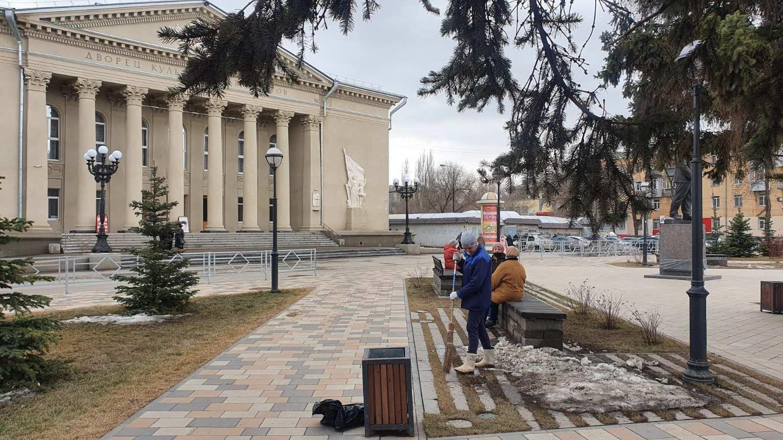 В Самаре привели в порядок бульвар Металлургов и площадь Мочалова