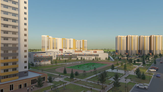 Микрорайон Нанжуль-Солнечный - фото 1
