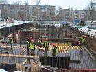 Ход строительства дома № 1 в ЖК Дворянский - фото 95, Февраль 2016